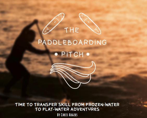 Paddleboarding pitch
