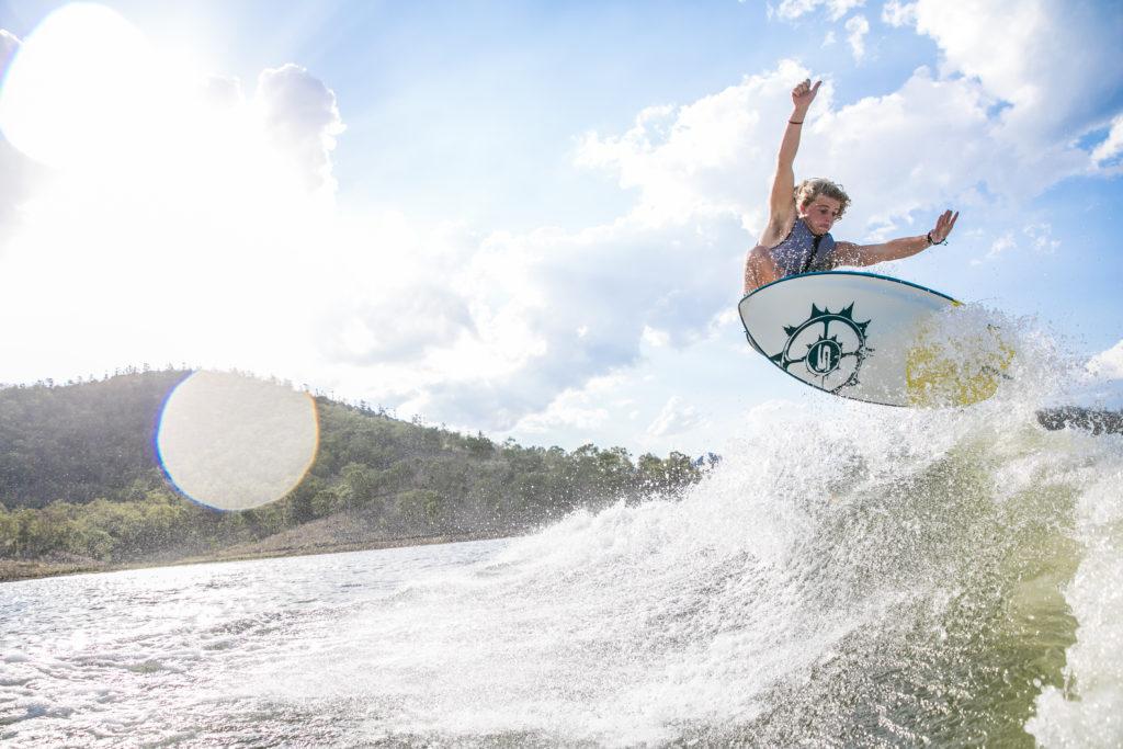 Alex Hayes Wakesurf with Slingshot / LKI