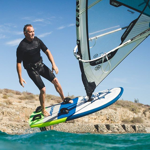 Tony Logosz on the Slingshot Wind Foil