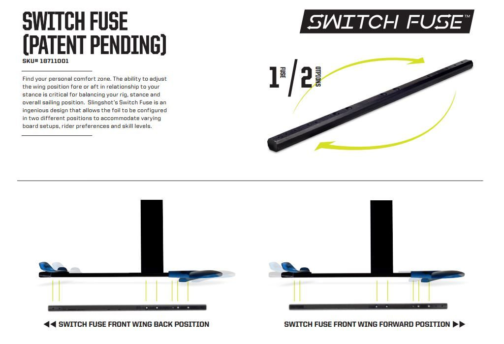 Wind Foil Tech - Switch Fuse