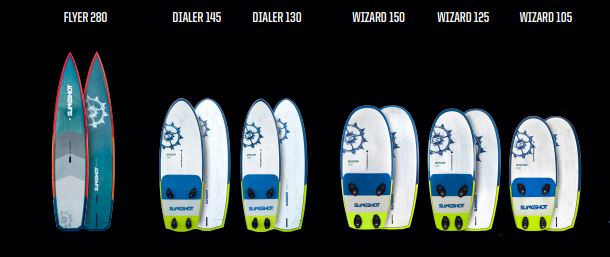 2018 Singshot Wind Foil board collection