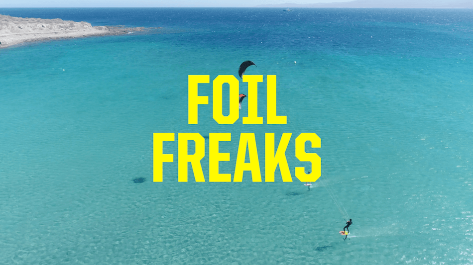 Learn to kite foil: foil academy