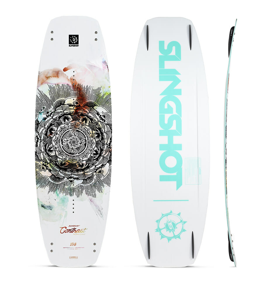 slingshot wakeboards contrast