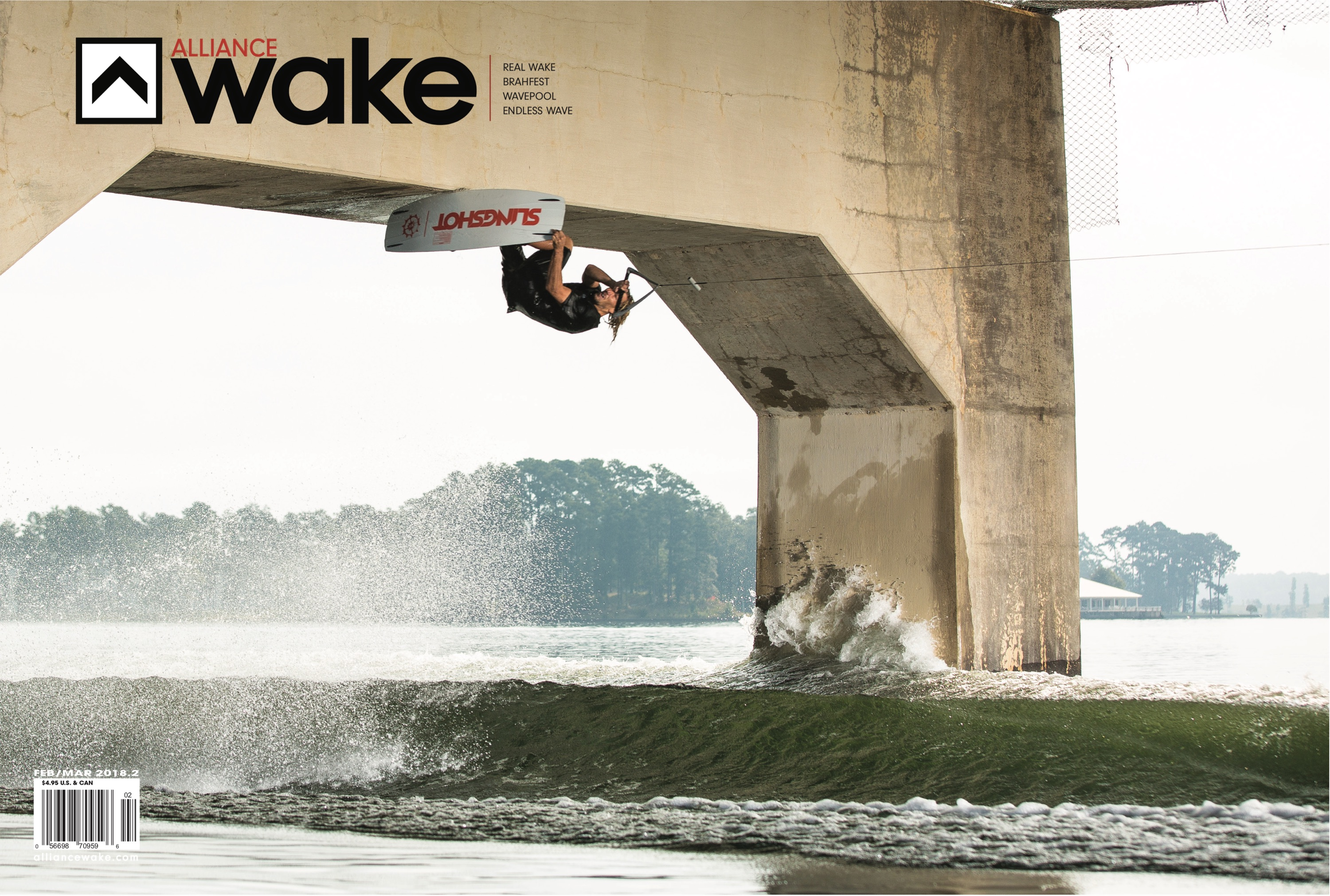 Alex Graydon on the cover of Alliance Wake Magazine