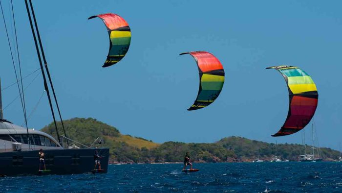 kiteboard riding styles