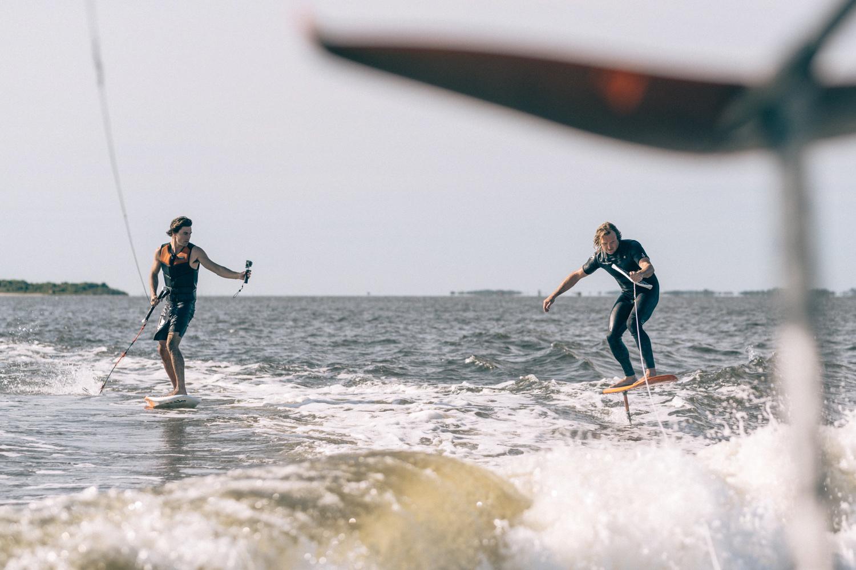 SLINGSHOT Hover Glide Hydrofoil invades the Outer Banks