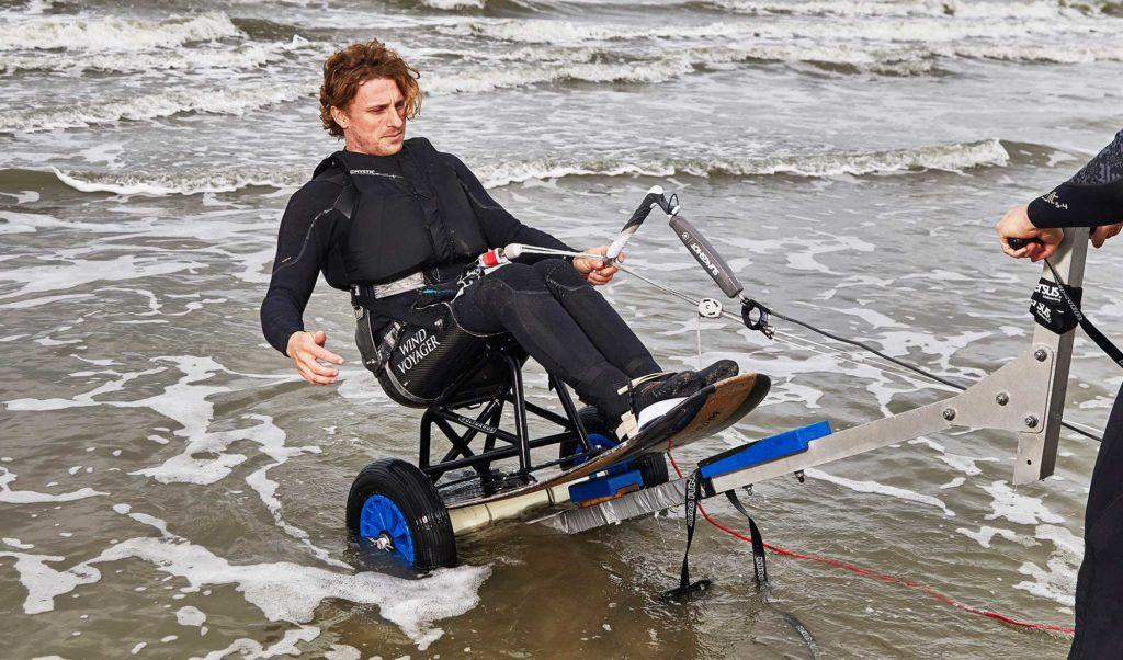 adaptive kitesurfing