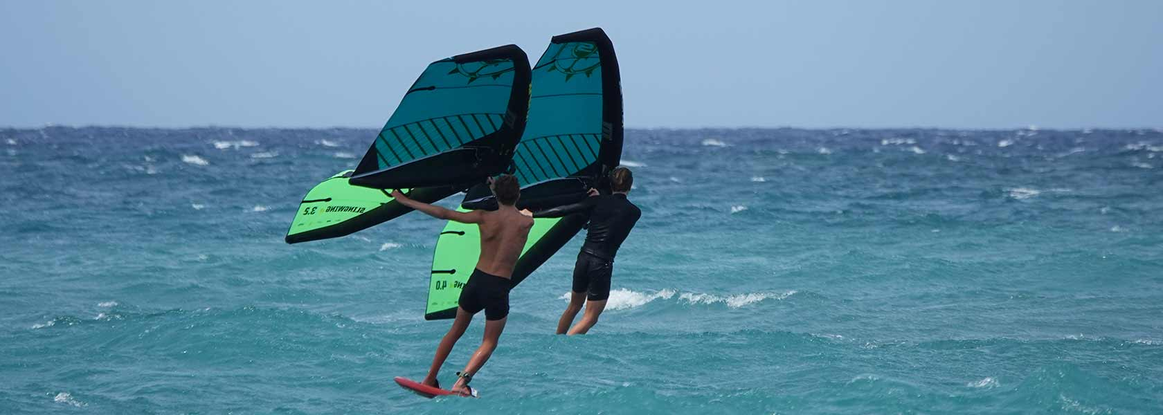 wing surfing brothers