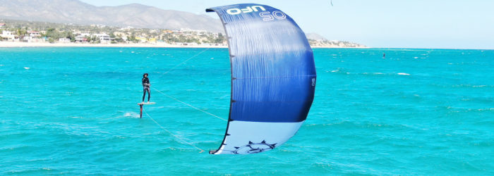 Fred Hope UFO Hydrofoil Kite