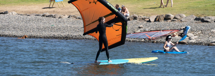 learn to wing surf