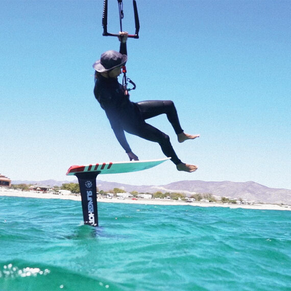 robby Stewart Hydrofoiling baja