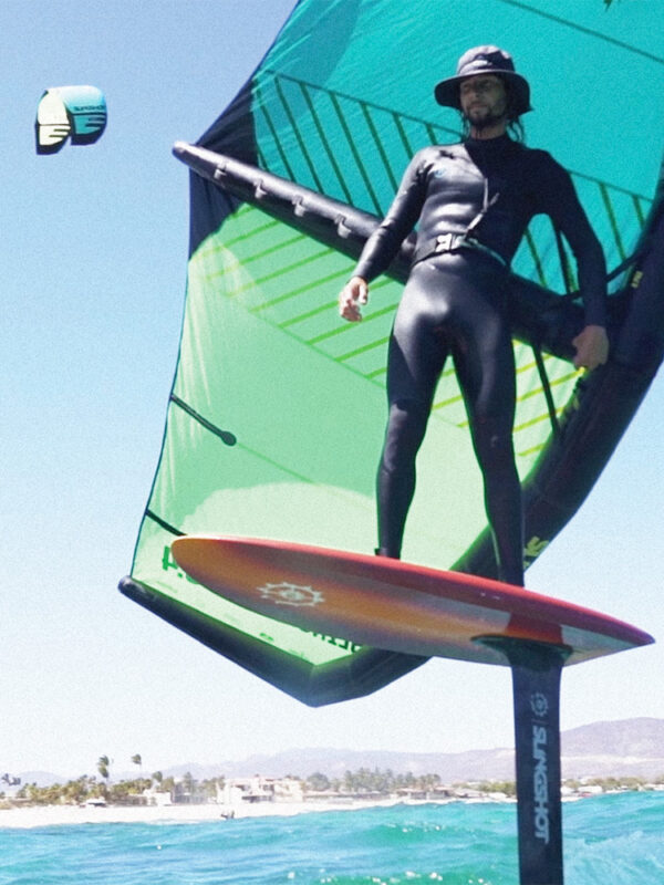 Robby Wing surfing